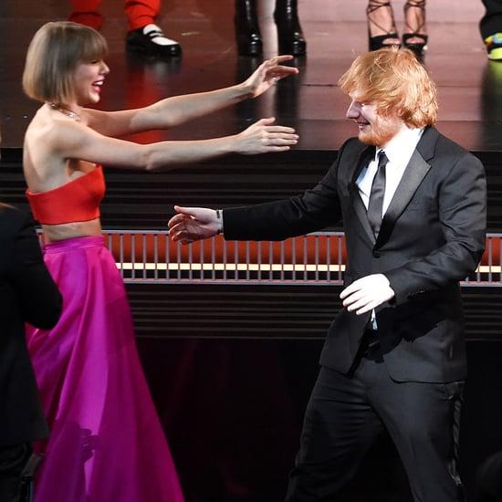 Taylor Swift Reacts to Ed Sheeran's Grammy Win 2016