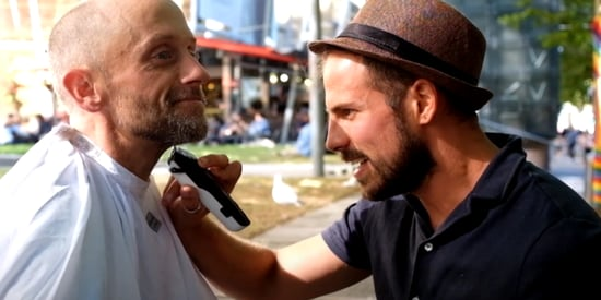 This Barber Wants To Inspire A Social Movement By Giving Free Haircuts To The Homeless