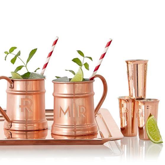 Mark & Graham Copper Mug
