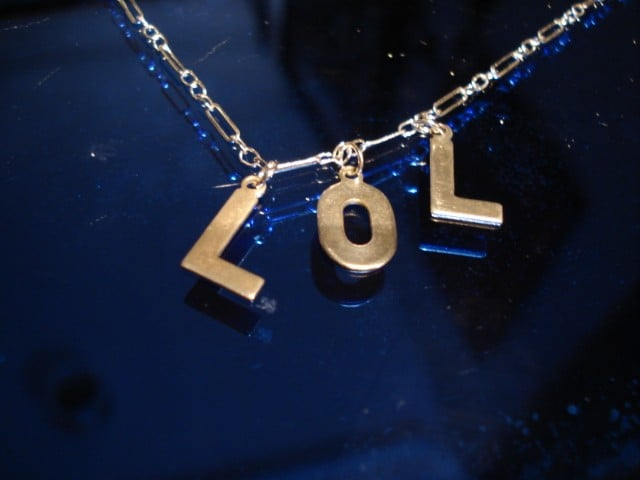 LOL Necklace