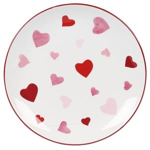 Valentine's Heart Plate