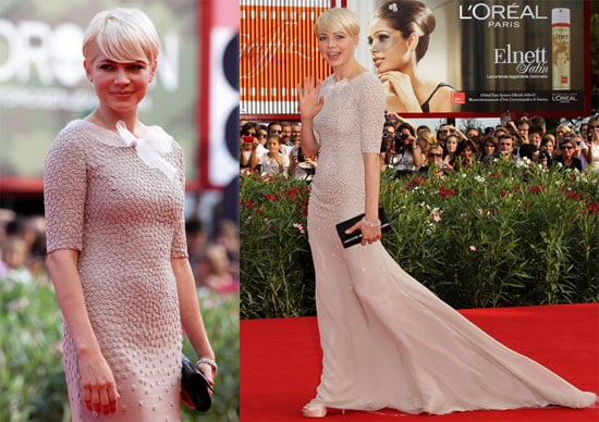 Pictures of Michelle Williams at the Premiere of Meek's Cutoff at the 2010 Venice Film Festival