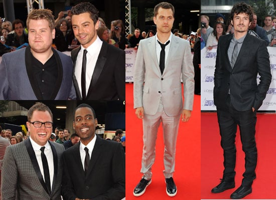 Pictures of Men at National Movie Awards Red Carpet Including Dominic Cooper, Joshua Jackson, Orlando Bloom 2010-05-26 13:55:06