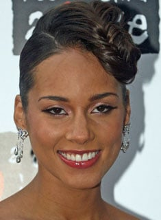 Alicia Keys Picture and Hair Braid Tutorial