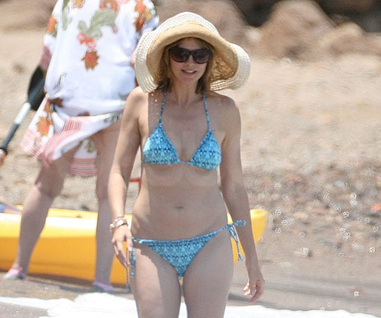Slide Picture of Heidi Klum in a Bikini in Mexico 2010-05-07 15:30:00