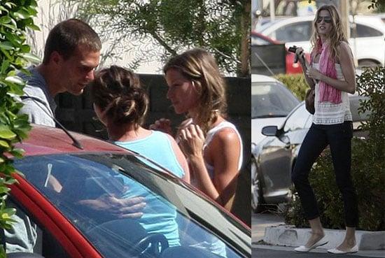 Photos of Tom Brady And Gisele Bundchen With Tom Brady's Son