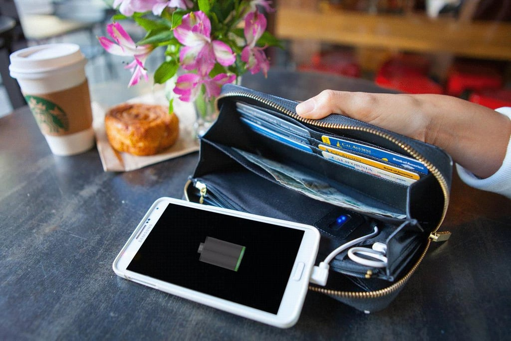 Power Wallet Phone Charger