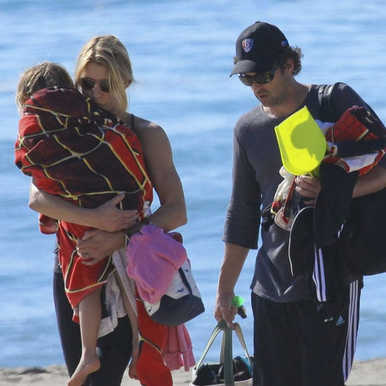 Patrick Dempsey at the Beach With Family Pictures