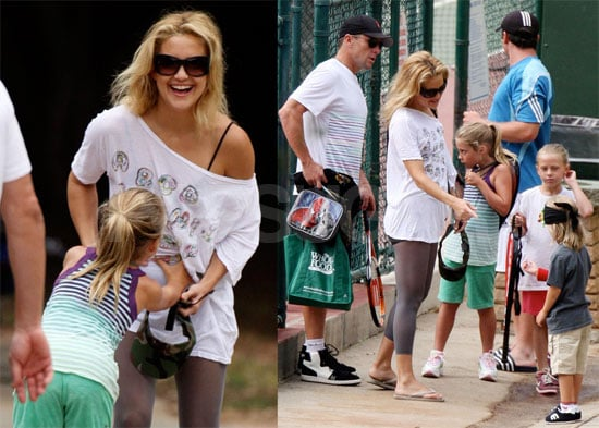 Photos of Kate Hudson and Lance Armstrong With Lance's Kids