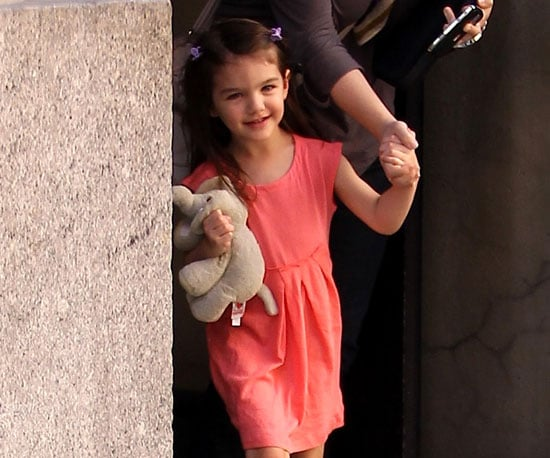 Slide Picture of Suri Cruise in New York