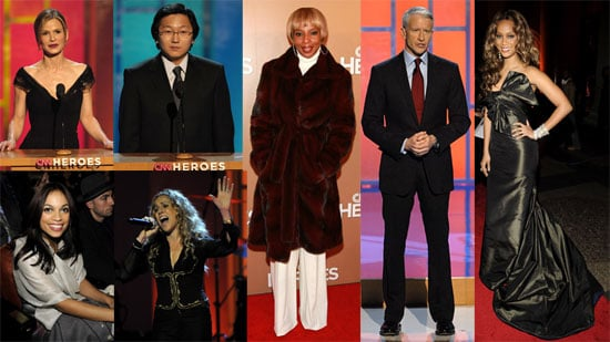 Tyra Banks, Anderson Cooper, Mary J. Blige at CNN Heroes: An All-Star Tribute