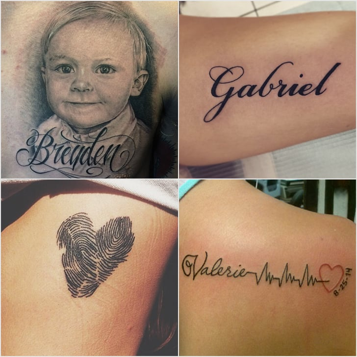 Baby Name Tattoos For Dads