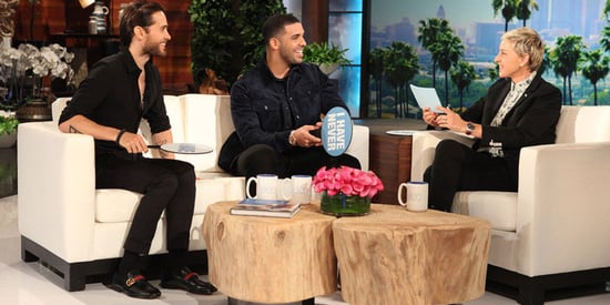 Drake And Jared Leto Keep It Honest For Game Of 'Never Have I Ever'