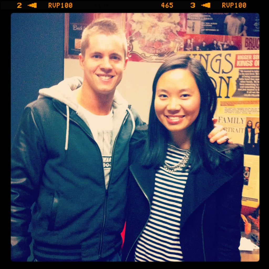 Jess also met Johnny Ruffo — we know, somebody stop her!
