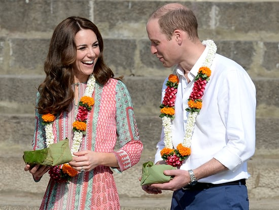 Prince William and Princess Kate Receive Tika Dots on Their Foreheads During Traditional Ceremony in Mumbai