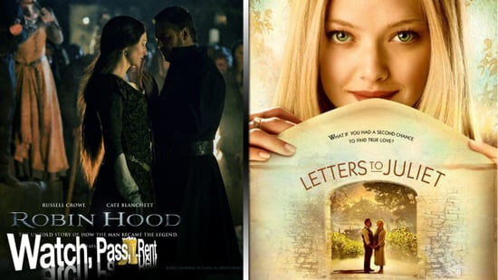 Robin Hood Movie Review and Letters to Juliet Movie Review