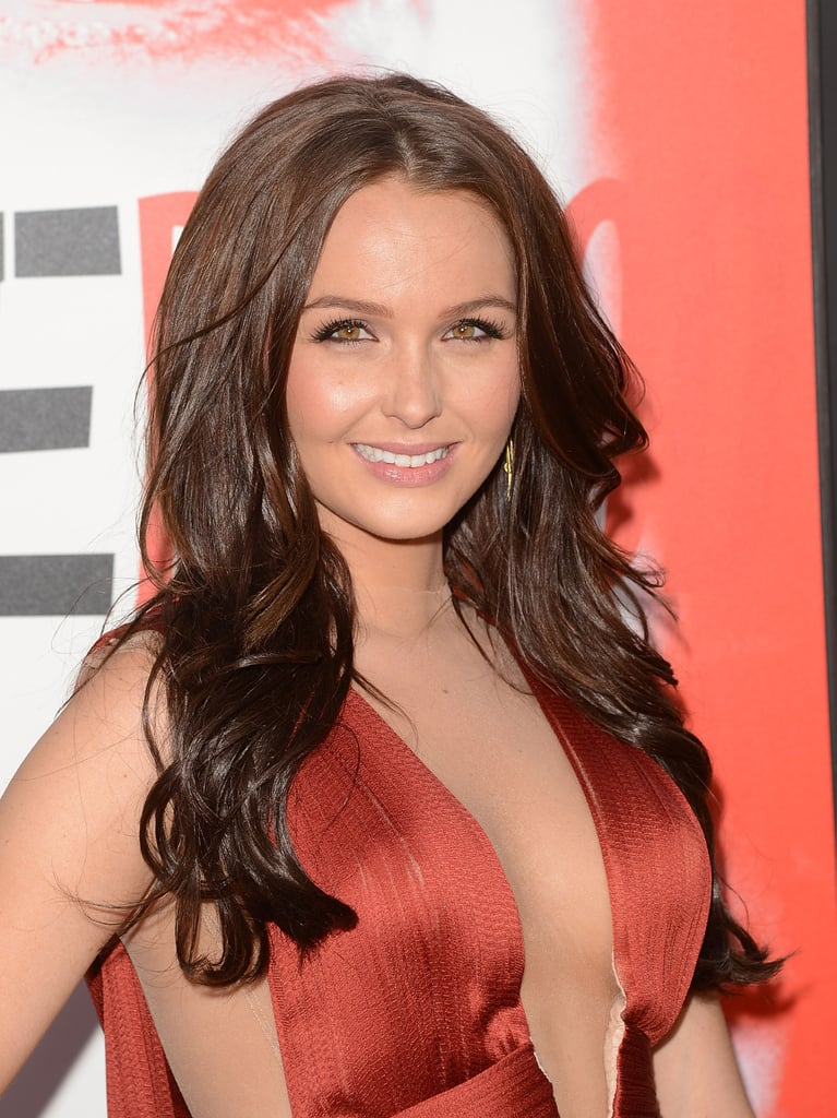 Camilla Luddington looked stunning as she walked the red carpet.