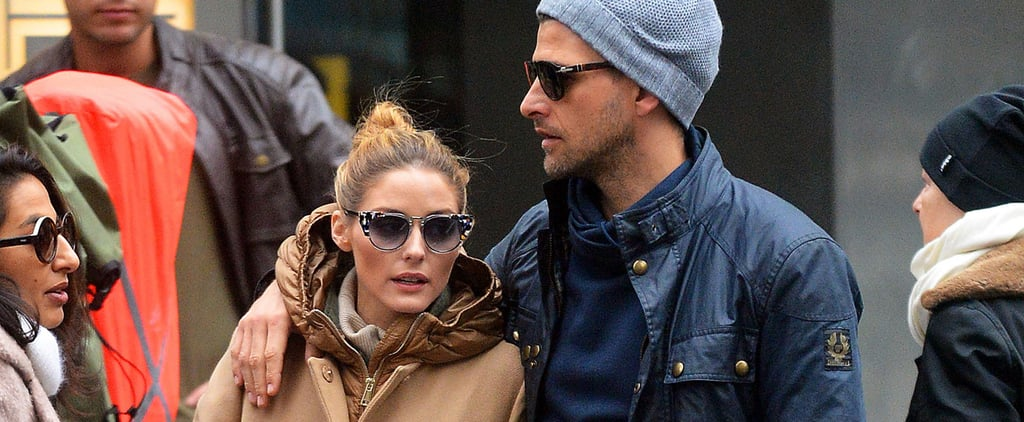 Olivia Palermo's Spring Raincoat Is Too Cool to Cover With an Umbrella
