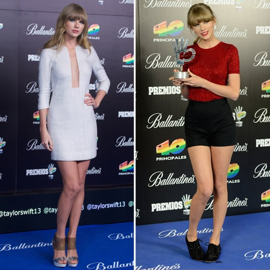 Taylor Swift Goes Short to Pick Up a Big Win in Spain