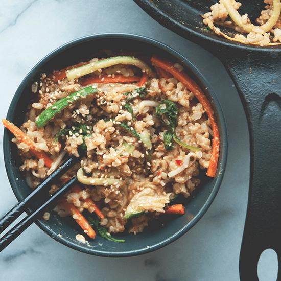 Easy Bibimbap Recipe