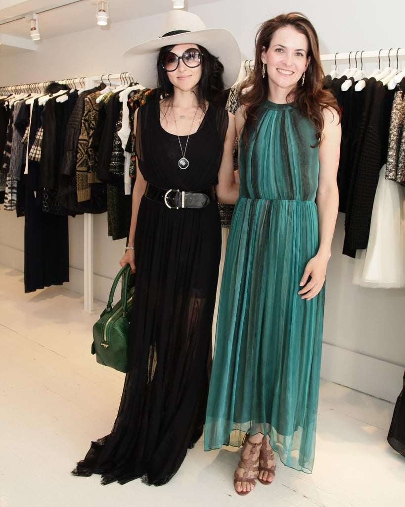 Stacey Bendet joined guests like Kimberly Kravis at her Southampton shopping event.