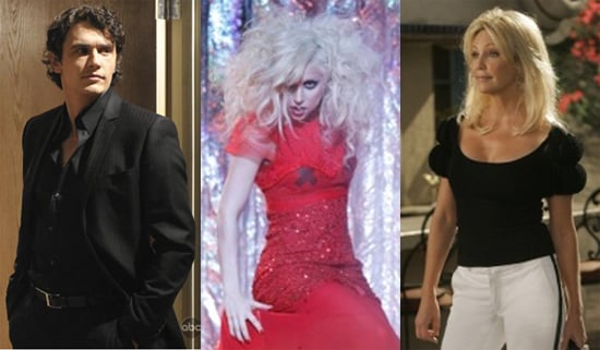 Lady Gaga Guest Stars on Gossip Girl, James Franco Appears on General Hospital, and Heather Locklear Comes Back to Melrose Place