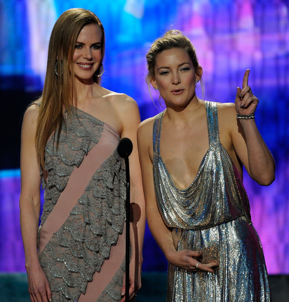 Nicole and Kate Shining at the Mic