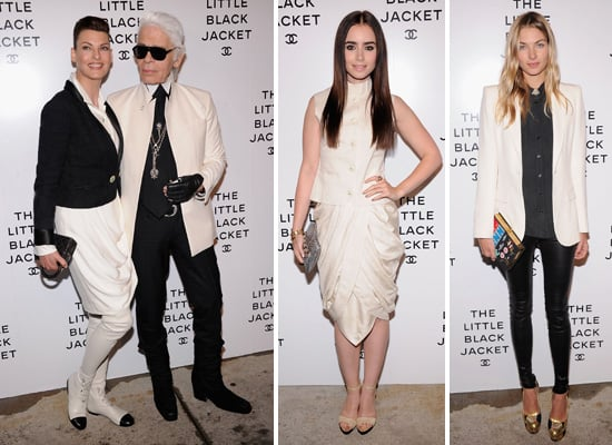 Stars Show Their Love For Chanel at a Party Celebrating the Little Black Jacket