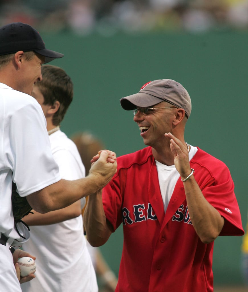 Kenny Chesney had first-pitch honors in July 2006 for the Boston Red Sox.