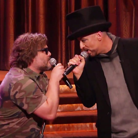 """Jack Black and Boy George Sing """"Hello, I Love You"""""""