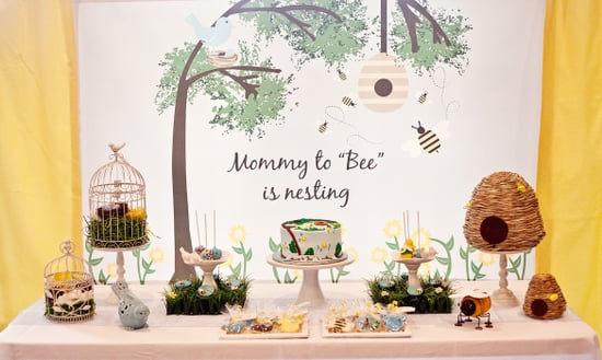 Life Begins With the Birds and Bees Baby Shower
