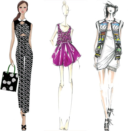 Sketched Out: Preview 30 Spring Collections From Fashion Week