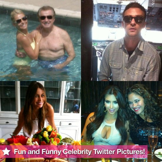 Justin Timberlake, Kim Kardashian, Sofia Vergara, and More in This Week's Fun and Funny Celebrity Twitter Pictures!