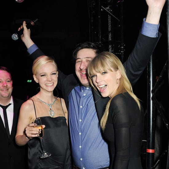 Taylor Swift DJing at Brit Awards Afterparty   Pictures