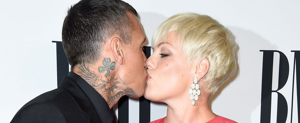 Pink and Carey Hart Bring Adorable PDA to the Red Carpet