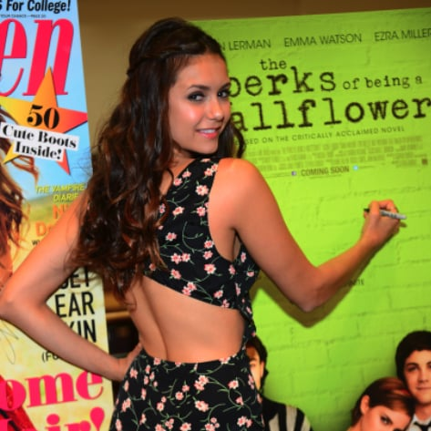 Cute Nina Dobrev Pictures at The Perks of Being a Wallflower Screening in Atlanta