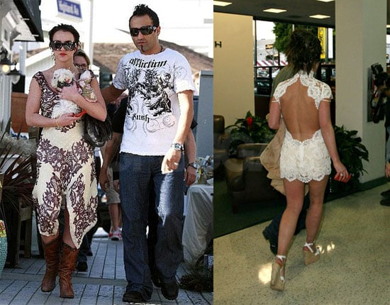 Britney's Wedding Dress Weekend Before Big Court Hearing