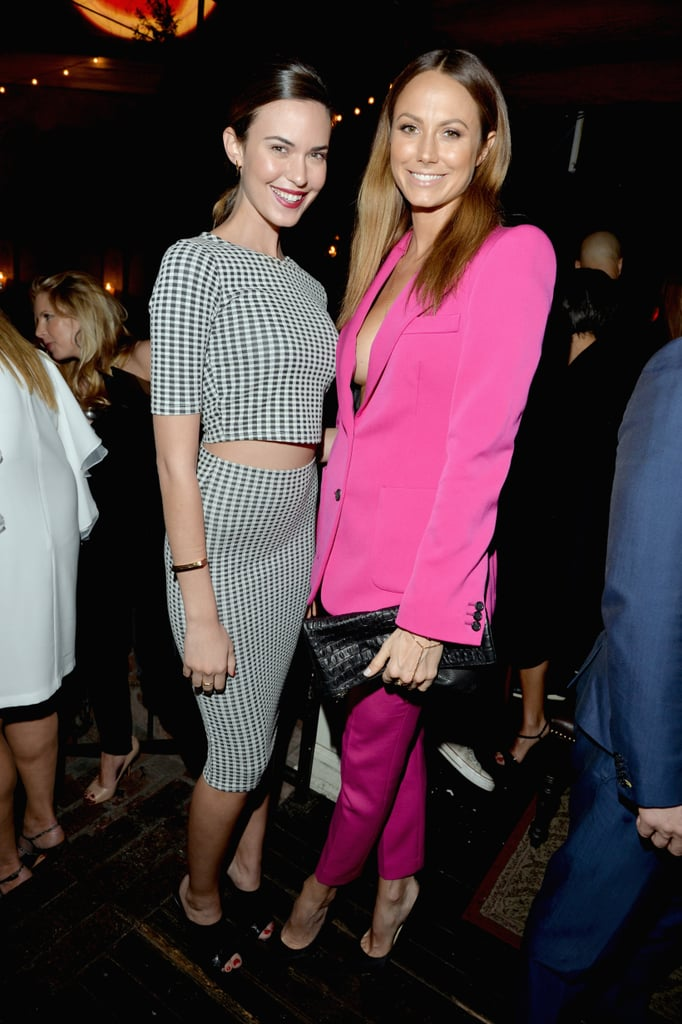 Stacy Keibler posed with Odette Annable.