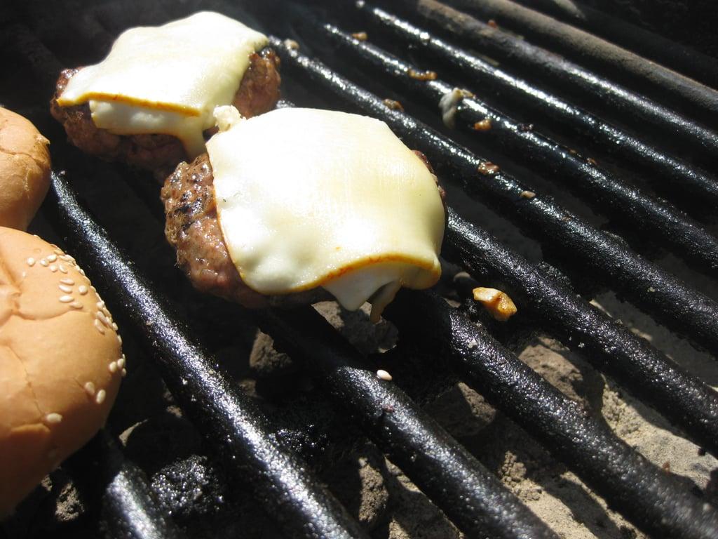 Pork Chipotle Muenster Burgers