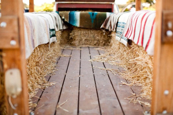A Blanket-Filled Hayride