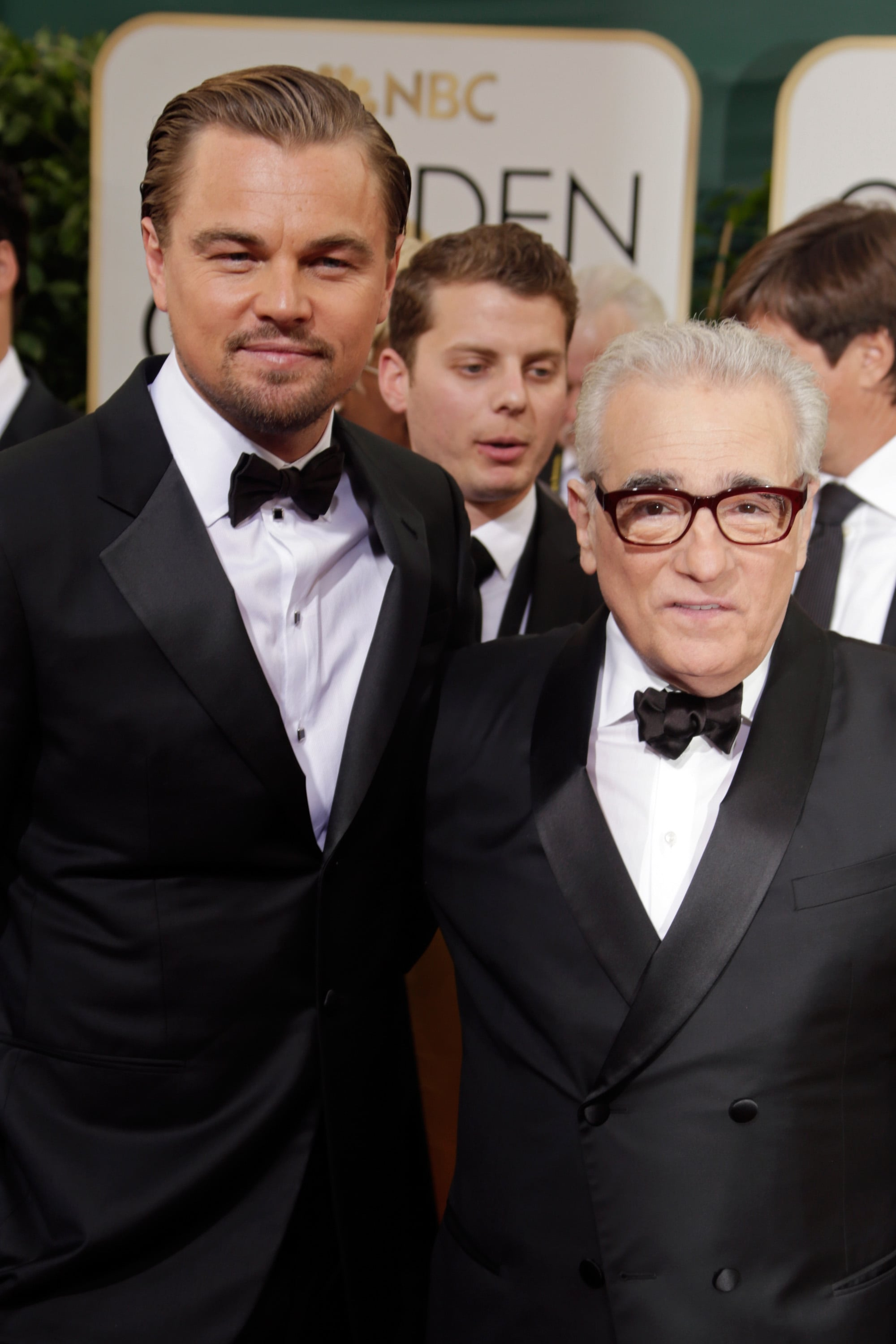 He hung out with director Martin Scorcese.