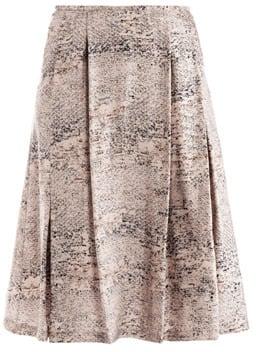 Freda Fleur speckle-print skirt