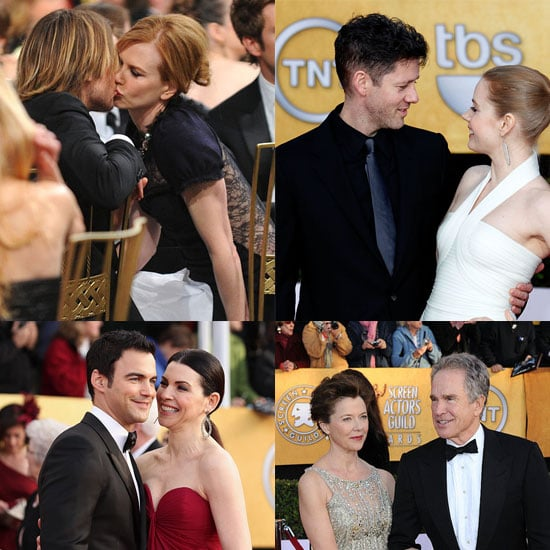 Pictures of Celebrity Couples at 2011 SAG Awards