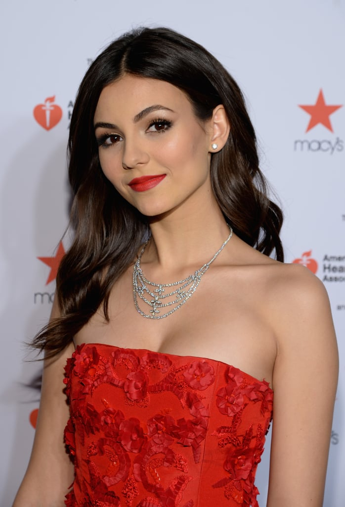 Victoria Justice at the Red Dress Show