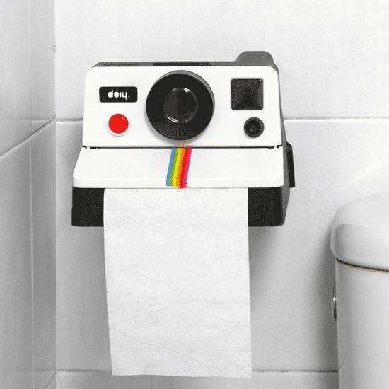 Polaroid Toilet Paper Roll