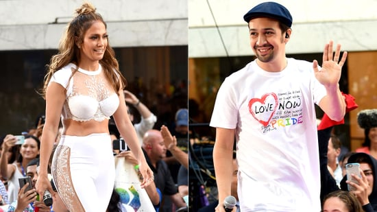 Jennifer Lopez Channels Her 'Selena' Style During Performance of 'Love Make the World Go Round' With Lin-Manuel Miranda
