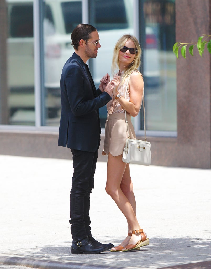 Kate Bosworth and Michael Polish Get Cute From Day to Night