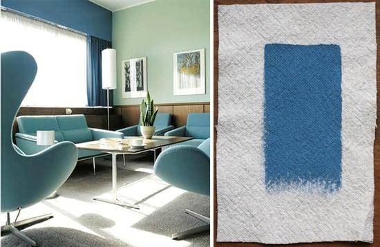 Palettes & Paints: Arne Jacobsen's Copenhagen Blues