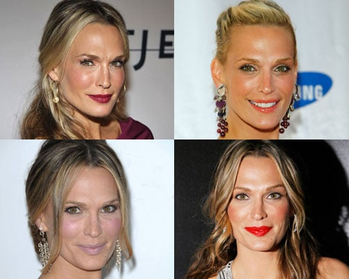 Which Colour Lipstick Do You Like Most on Molly Sims?