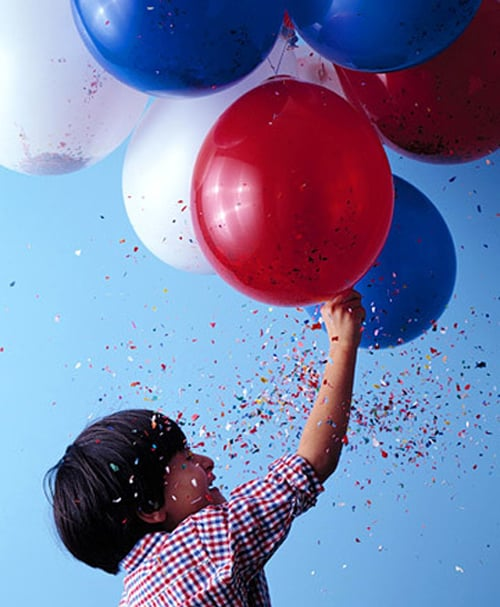 Make These: Confetti Balloons